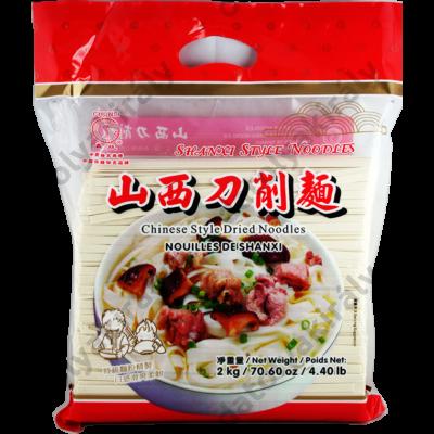 Kínai lapos tészta (Széles) Chungsi Shanxi Daoxiao Noodles 2kg