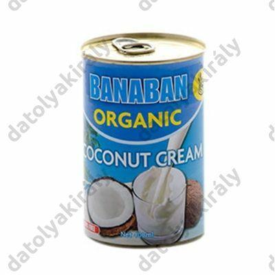 BANABAN bio 100%-os kókuszkrém 400 ml