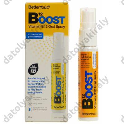 B12 Boost Pure Energy szájspray étrend kiegészítő, 25 ml