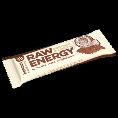 BOMBUS nyers szelet kókuszos kakaós, 50 g