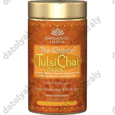 Bio Tulsi Chai Masala - egy korty India fűszereiből Szállas 100 g