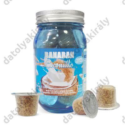 BANABAN Bio Coconutto 15 db kapszula kókusz ital Nespresso ®