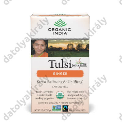 Bio Tulsi Ginger filteres - a gyomor megnyugtatására 18X1,75G, 31 g