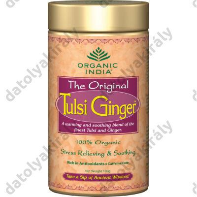 Bio Tulsi Ginger - a gyomor megnyugtatására szálas 100 g