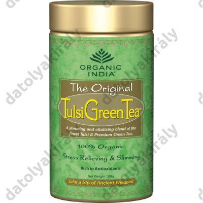 Bio Tulsi Green Tea - a jobb anyagcseréért szálas 100 g