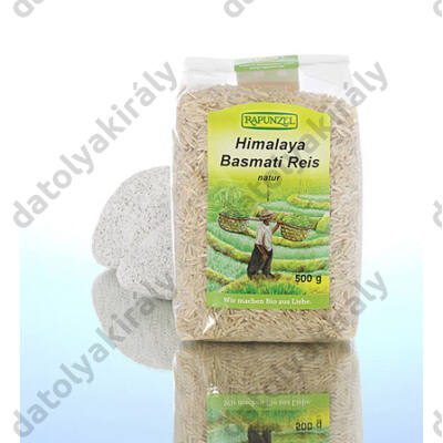 Rapunzel bio basmati rizs natur barna, 500 g