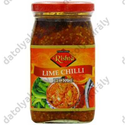 Rishta Chili Lime pickle indiai csípős savanyúság