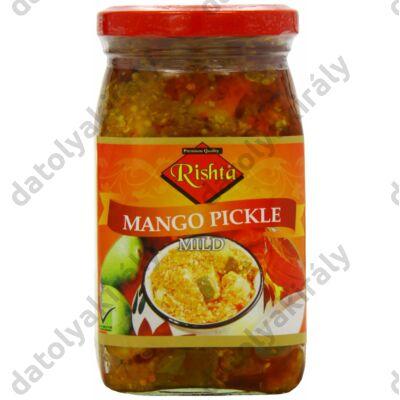 Rishta Mangó pickle indiai csípős savanyúság (ENYHE)