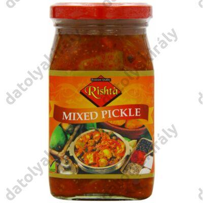 Rishta Vegyes zöldség Mix pickle indiai csípős savanyúság