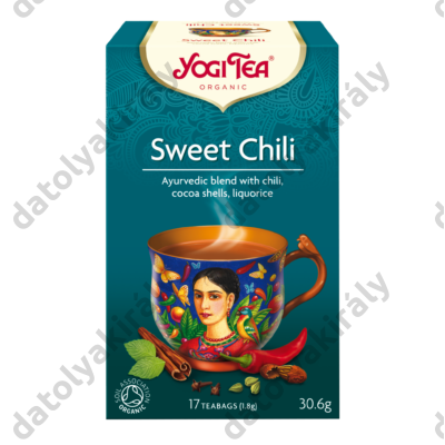Yogi bio édes chili tea mexikói fűszeres17X1,8G, 31 G