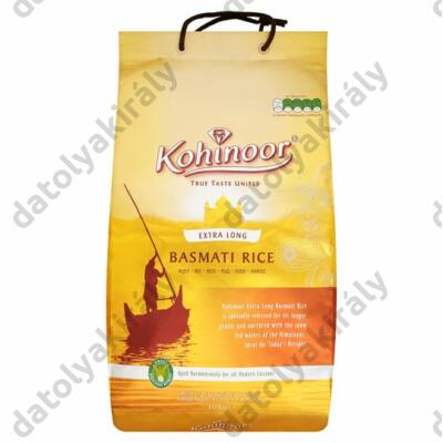 Kohinoor extra hosszúszemű basmati rizs 10 kg