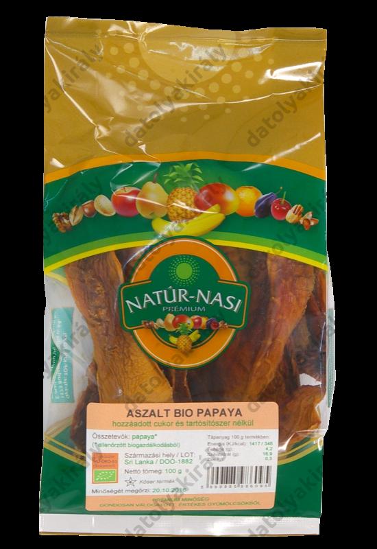 Bio Aszalt papaya 100 g