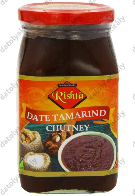Rishta Datolyás tamarind csatni édes és csípős